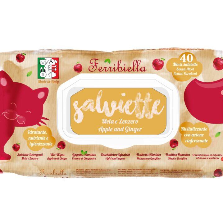 Ferribiella lingettes Pomme et Gingembre