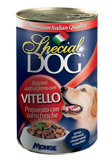 Special dog boulettes au morceaux de veaux