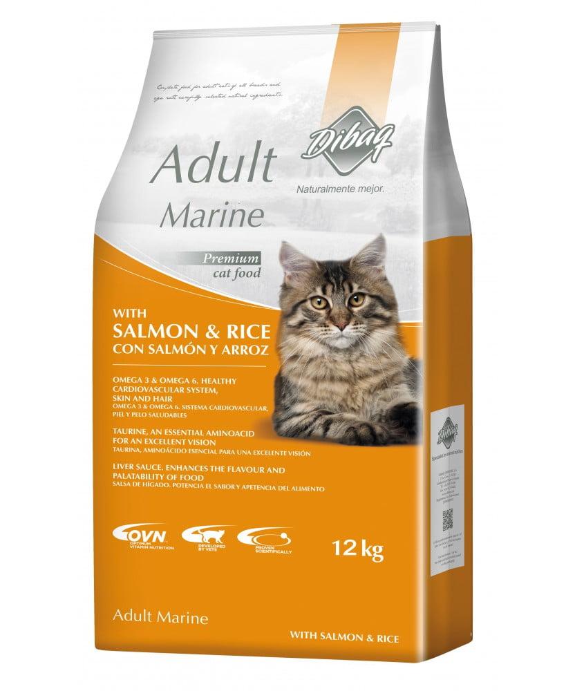 DIBAQ DNM SAUMON 12 Kg pour chats